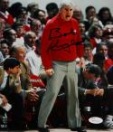 Bob Knight Autographed 8x10 Indiana Hoosiers Yelling Photo- JSA W Auth *Blue