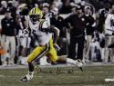 Derrius Guice Autographed LSU Tigers 16x20 Avoiding Tackle- JSA W Auth *Black