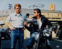 Henry Winkler Autographed Happy Days 16x20 The Fonz w/ Richie Photo- Beckett Auth
