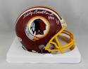 Bobby Beathard Autographed Redskins Mini Helmet w/ HOF - Beckett W Auth *White