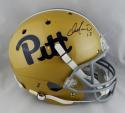 Dan Marino Autographed Pittsburgh Panthers F/S Helmet - Beckett Auth *Black