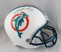 Dan Marino Autographed Miami Dolphins Full Size Helmet - Beckett Auth *Black