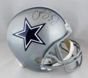 Cole Beasley Autographed Dallas Cowboys F/S Helmet - JSA W & Fanatics Auth *Black