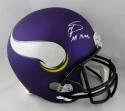Stefon Diggs Autographed Vikings F/S Helmet w/ Insc- Beckett Auth *White
