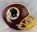 Jamison Crowder Autographed Washington Redskins F/S Helmet - JSA W Auth *Gold
