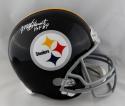 Mel Blount Signed Pittsburgh Steelers F/S TB Helmet w/ HOF- Beckett Auth *White