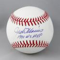 Jack Morris Autographed Rawlings OML Baseball w/ 1991 WS MVP-Beckett Auth
