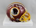 Dexter Manley Autographed Redskins Mini Helmet w/ SB Champs- Jersey Source Auth
