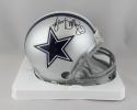 Jimmy Smith Autographed Dallas Cowboys Mini Helmet- Jersey Source Auth *Black