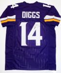 Stefon Diggs Autographed Purple Pro Style Jersey - Beckett Authenticated *4