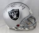 Khalil Mack Signed Raiders F/S Proline Helmet w/ Viva Las Vegas- JSA W Auth *Blk
