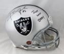 Khalil Mack Signed Raiders F/S Proline Helmet w/ Just Win Baby- JSA W Auth *Blk