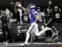 Stefon Diggs Signed Vikings 16x20 Photo Spotlight w/ MN Miracle- Beckett Auth *White