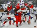 LeSean McCoy Autographed Bills 16x20 In Snow PF Photo - JSA W Auth *Black