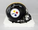 JuJu Smith-Schuster Autographed Steelers Mini Helmet - JSA W Auth *White