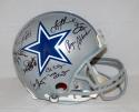 Dallas Greats Autographed Cowboys F/S Proline Helmet w/ 25 Sig- JSA W Auth *Black