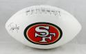 Frank Gore Autographed San Francisco 49ers Logo Football- Beckett Authenticated