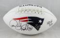Andre Tippett Autographed New England Patriots Logo Football w/ HOF - JSA W Auth