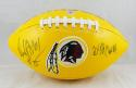 Dexter Manley Autographed Washington Redskins Logo Football- The Jersey Source Auth