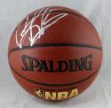 Dennis Rodman Autographed Official NBA Spalding Basketball *Silver- JSA W Auth