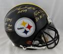 Rod Woodson Signed Pittsburgh Steelers F/S ProLine Helmet W/ 5 Stats- JSA W Auth