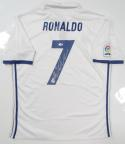 Cristiano Ronaldo Autographed Real Madrid White Soccer Jersey- PSA/DNA Auth