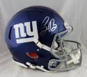 Saquon Barkley Autographed NY Giants F/S Revolution Helmet- Panini Auth