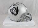 Martavis Bryant Autographed Oakland Raiders Mini Helmet - JSA W Auth *Black