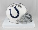 Eric Dickerson Autographed Indianapolis Colt Mini Helmet W/ HOF- Beckett Auth