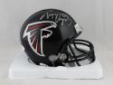 Tony Gonzalez Autographed Atlanta Falcons Mini Helmet- JSA W Auth *Silver