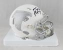 Tony Gonzalez Autographed Atlanta Falcons ICE Mini Helmet- JSA W Auth *Black