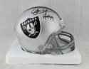 Eric Dickerson Autographed Oakland Raiders Mini Helmet W/ HOF- Beckett Auth