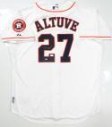 Jose Altuve Autographed Houston Astros Jersey W/ Astros Patch- JSA W Auth *2