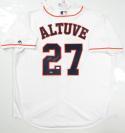 Jose Altuve Autographed Houston Astros Majestic Jersey - JSA W Auth *2