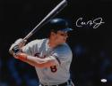 Cal Ripken Jr Orioles Autographed 16x20 Batting Photo - JSA Witness Auth *White Right