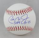 Cal Ripken Jr Autographed Rawlings OML Baseball w/ 3184 Hits -JSA W Auth
