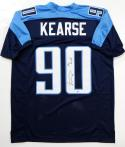 Jevon Kearse Autographed Blue Pro Style Jersey w/ The Freak! - Beckett Authentication *0