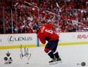 Alexander Ovechkin Autographed Capitals 16x20 Shooting In Stanley Cup PF Photo- Beckett/Fanatics Auth *Black