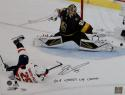 Devante Smith-Pelly Autographed Washington Capitals 16x20 Stanley Cup PF Photo w/ Insc -Fanatics Auth *Black