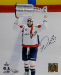 Tom Wilson Autographed Washington Capitals 8x10 Stanley Cup PF Photo-Fanatics Auth