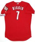 Craig Biggio Signed Houston Astros Red Authentic Majestic Jersey w/ HOF- TriStar Auth