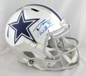 Jason Witten Autographed Dallas Cowboys F/S Chrome Helmet- JSA W Auth *Blue