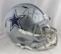 Tony Romo Autographed Dallas Cowboys F/S Speed Helmet- Beckett Auth *Black