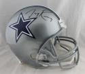 Tony Romo Autographed Dallas Cowboys Full Size Helmet- Beckett Auth *Black