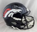 Courtland Sutton Autographed Denver Broncos Full Size Speed Helmet- JSA W Auth *White