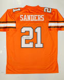 Barry Sanders Autographed Oklahoma State Cowboys Authentic Jersey- PSA/DNA Auth