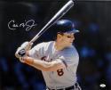 Cal Ripken Jr Orioles Autographed 16x20 Batting Photo - JSA Witness Auth *White Left